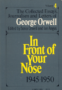 1920 1940 age collected essay george like orwell this The collected essays,  vol i in an age like this (1920-1940) vol ii my country, right or left  the making of george orwell: an essay in literary history.