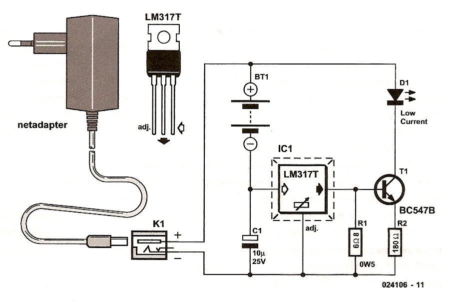 Схема зарядного 12v