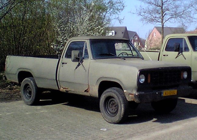 Dot on 1977 Dodge Power Wagon Images