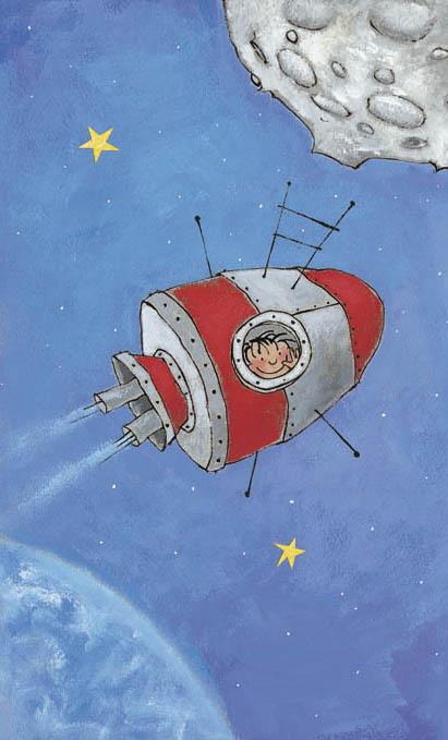 raket cartoon plaatjes