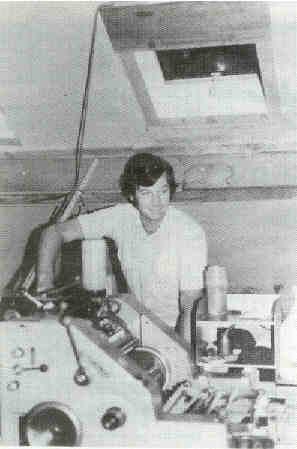 Fred van Essen die jarenlang de druk van het blad op zich nam na de dood van Anton in juni 1979