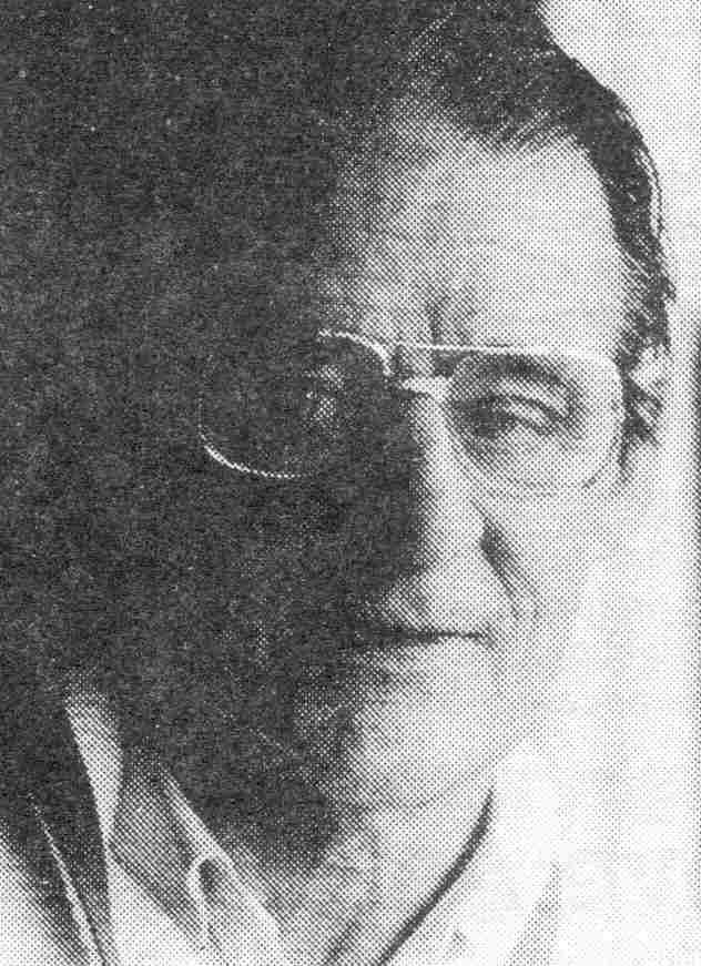 De heer Gieles, ongeveer in 1988 op 70-jarige leeftijd