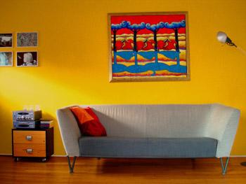 Awesome Gele Woonkamer Ideas - Ideeën Voor Thuis - ibarakijets.org