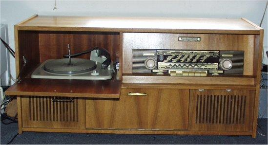 Radiomeubel for Jaren 50 60 meubels