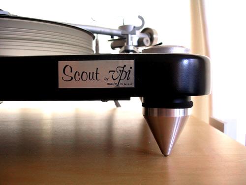 De VPI Scout met het Benz Micro Ace L element
