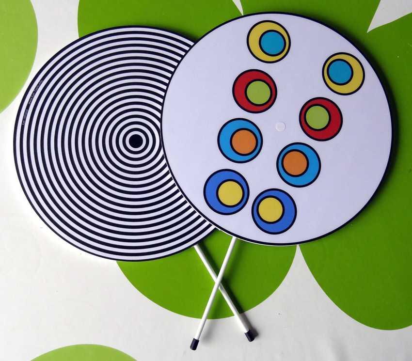 Eye-lollipop voor oogoefeningen