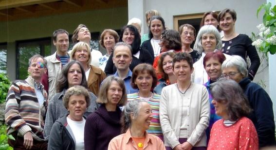Groepsfoto van Der Verein für Gesundes Sehen