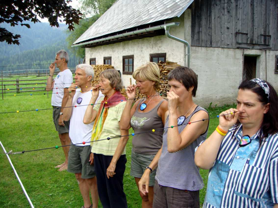 Kralenkoord in Oostenrijk