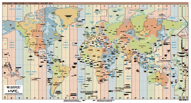 Timezones index the original pdf of this nice timezones map can be found at the site of the cia world fact book see references regional and world maps standard time gumiabroncs Gallery