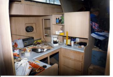 Keukenblad afwerkrand