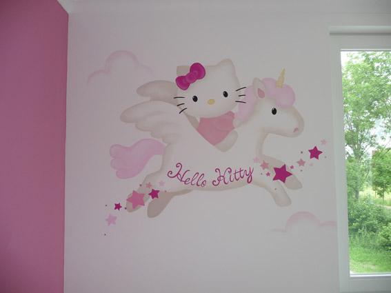 Muurschilderingen Kinderkamer, babykamer, jongenskamer, meisjeskamer.