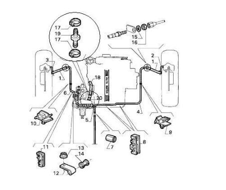 2003 Olds Silouette Fuel Pump Wiring Diagram besides 1981 Jeep Cj7 Wiring Diagram as well Location 63 64 Dash Courtesy L s Ford Muscle Forums Click also Fiat Spider 124 Electrical Schematics And Wiring Harness80 82 as well 1975 Mgb Wiring Schematic. on alfa romeo spider fuse box